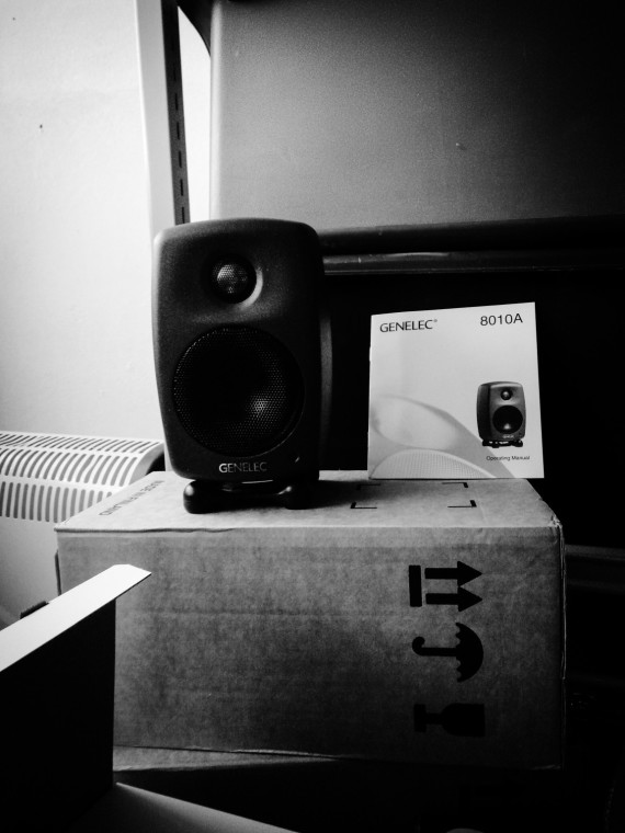 Looking moody  - you naughty little speaker :)