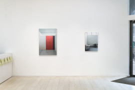 Paul Winstanley, Art School, installation at Alan Cristea Gallery. Courtesy: Paul Winstanley and Alan Cristea Gallery, London; Photo: Peter White