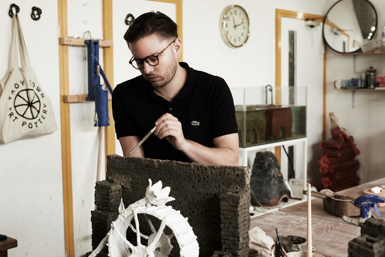 A Q Amp A With Aaron Angell Artist And Founder Of Troy Town
