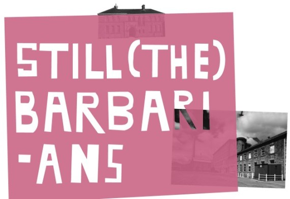 Barbarians title logo
