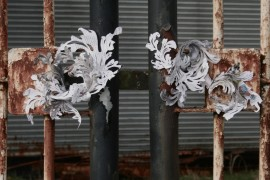 Anya Beaumont – Paper installation, Utopia:Dystopia, Fringe Arts Bath