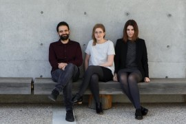 Fabrica team: Angelo Semeraro, Coralie Gourguechon and Monica Lanaro