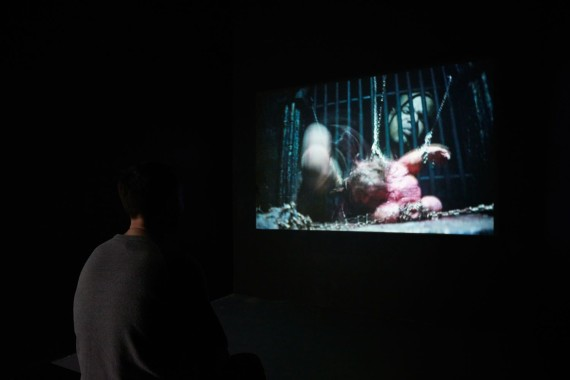 Winner of the XL Catlin Art Prize 2016 Christopher Gray. Courtesy of Tom Carter