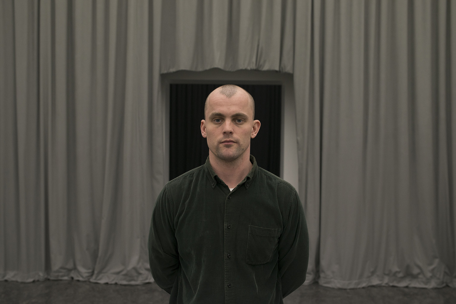 James Richards, selected for Wales in Venice 2017