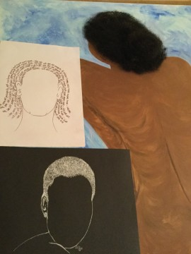 Afro hair, physiognomy,