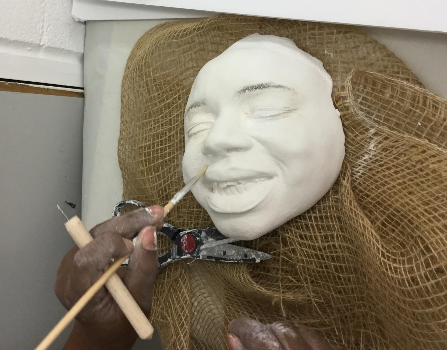 Plaster, Identity, Self portrait