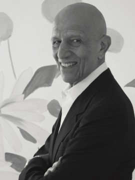 Alex Katz in his New York Studio, 2014. Photo by Vivien Bittencourt