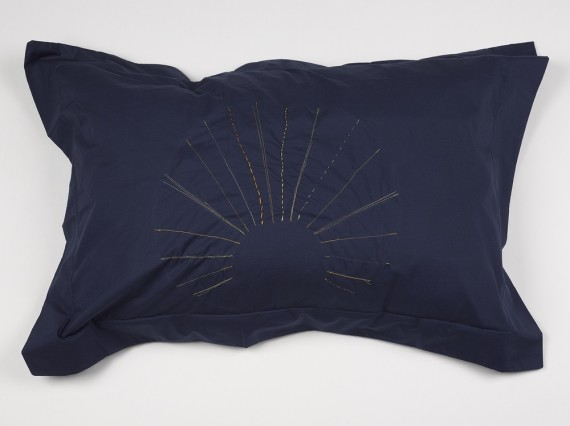 Holly Slingsby, Pillow case. Edition of 6  91cm (w) x 64cm (h)  fits general pillow size - 76cm (w) x 49cm (h). Photo: Jack Hems