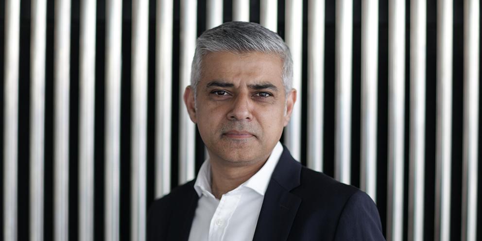 The Mayor of London Sadiq Khan