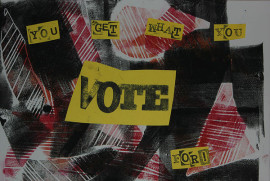 Image by Emily Rose Vanags for Vote Art (www.voteart.co.uk)