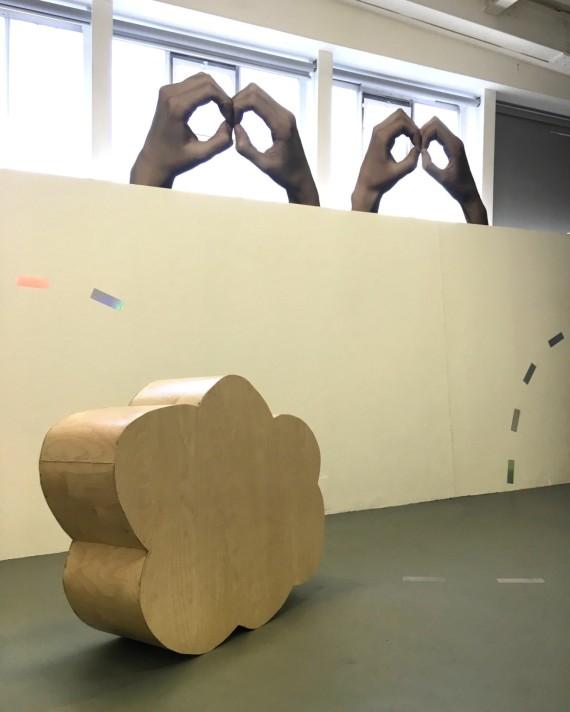 jawbone_jawbone (Nikki Lawson and Matthew Young), jawbone_jawbone, sculpture and video installation. Photo: Sheyda Porter