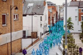 Spencer Tunick, Sea of Hull commissioned by Ferens Art Gallery. Copyright: Ferens Art Gallery, Hull Museums