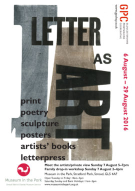 Letter as Art Exhibition