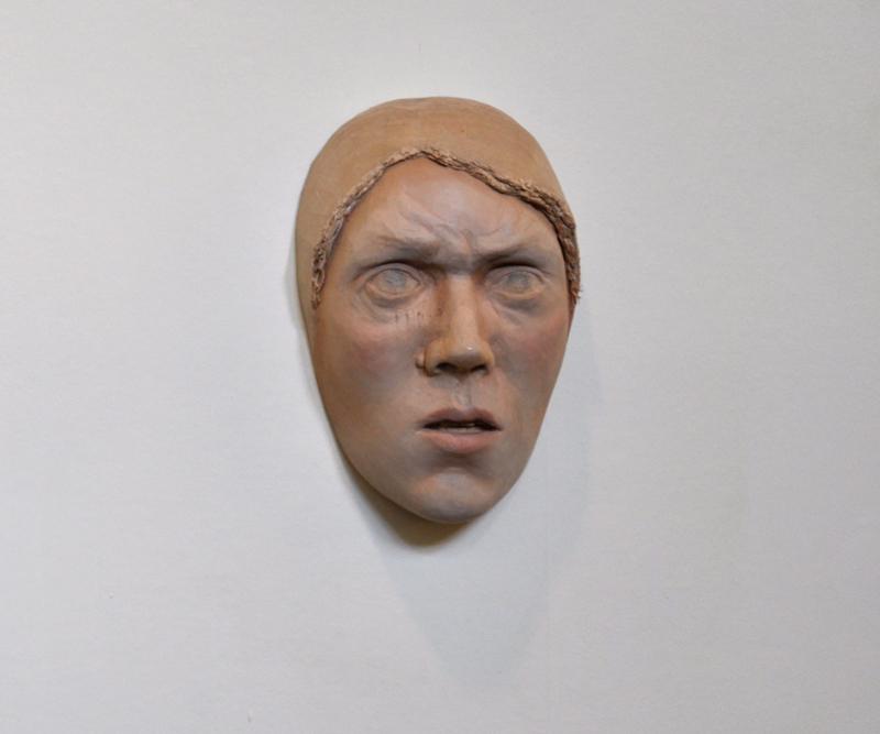 Beth Collar, Untitled (furrowed brow)
