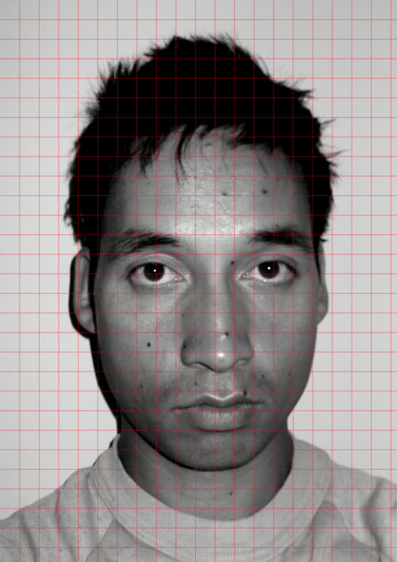 Self-Portrait with Grid