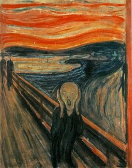 Edvard Munch, The Scream, 1893. Creative Commons