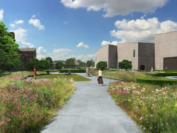 Garden Landscaping Wakefield : Hepworth wakefield set for one of uk s largest free public gardens