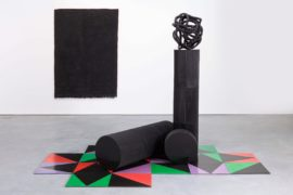 Eva Rothschild, What the Eye Wants, exhibition view, Modern Art, London, 2014