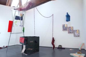 Installation view, 'Taction' exhibition, Serf, Leeds