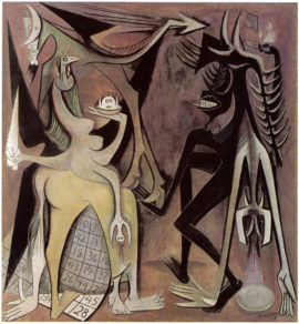 Wifredo Lam (1902-1982)  Bélial, Emperor of the Flies   1948  Private collection  © SDO Wifredo Lam