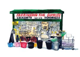 Farringdon Locksmith and Tool supplies in Exmouth Market