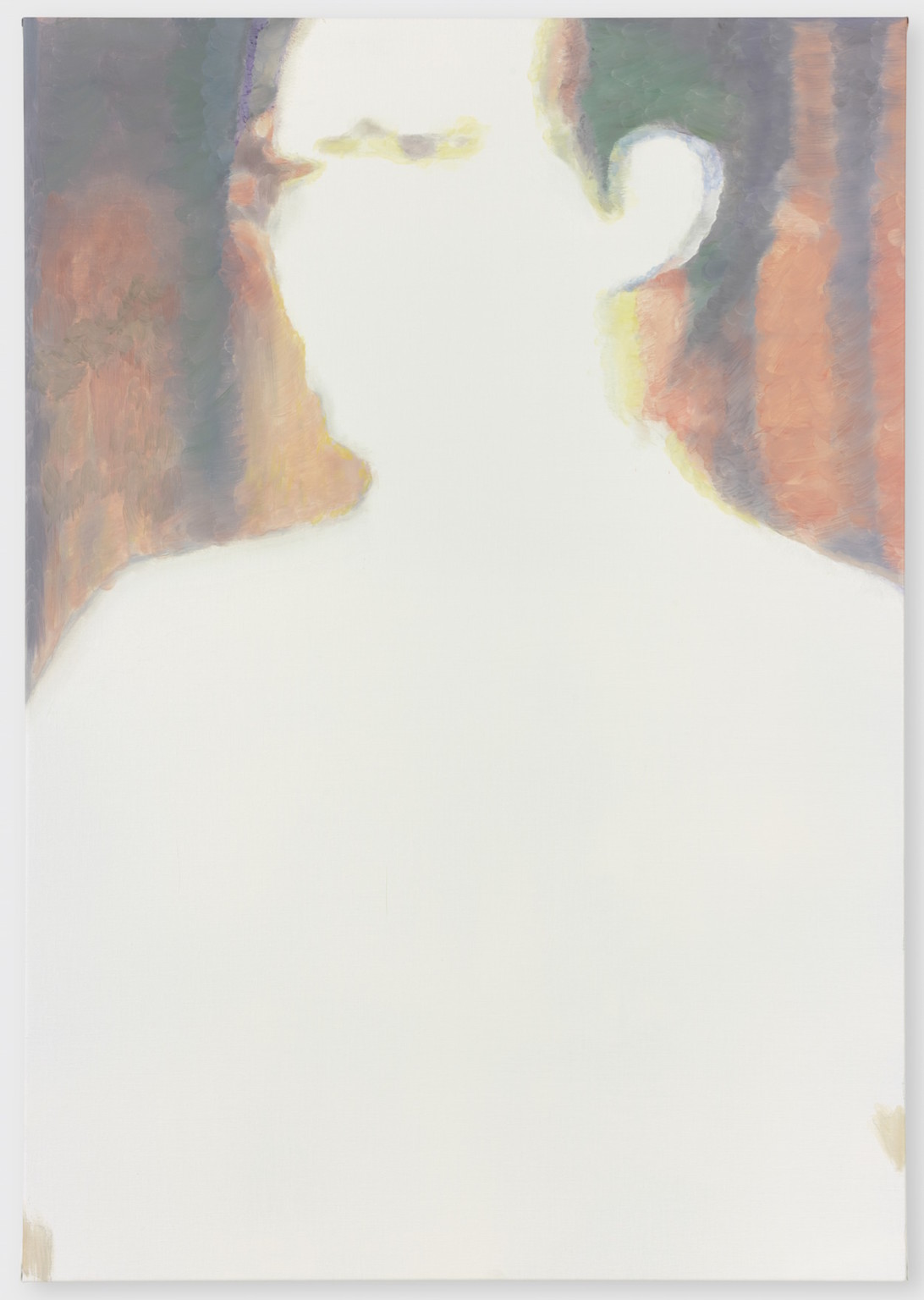 Luc Tuymans, Issei Sagawa, Oil on canvas, 2012, 116.2x81.4cm, Private collection