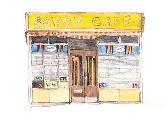 Savoy Cafe, Graham Road, Hackney