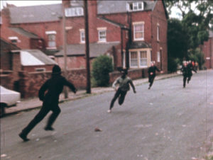 John Akomfrah, Handsworth Songs, 1986, Single channel 16mm colour film transferred to video, sound, 58 minutes 33 seconds © Smoking Dogs Films; Courtesy Lisson Gallery http://www.lissongallery.com/artists/john-akomfrah/gallery/7573