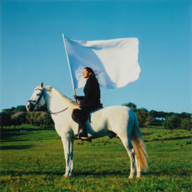 Marina Abramovic, The Hero, 2001. Photo: Lee Stalsworth. Copyright: Marina Abramovic Archives