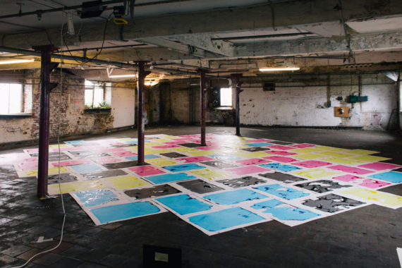 'Temporary Custodians of Islington Mill 2018 - 2028' (2016) Installation view Image credit: Jay Creagh