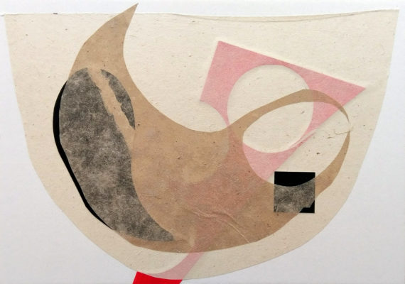 Abstract collage by David Smith