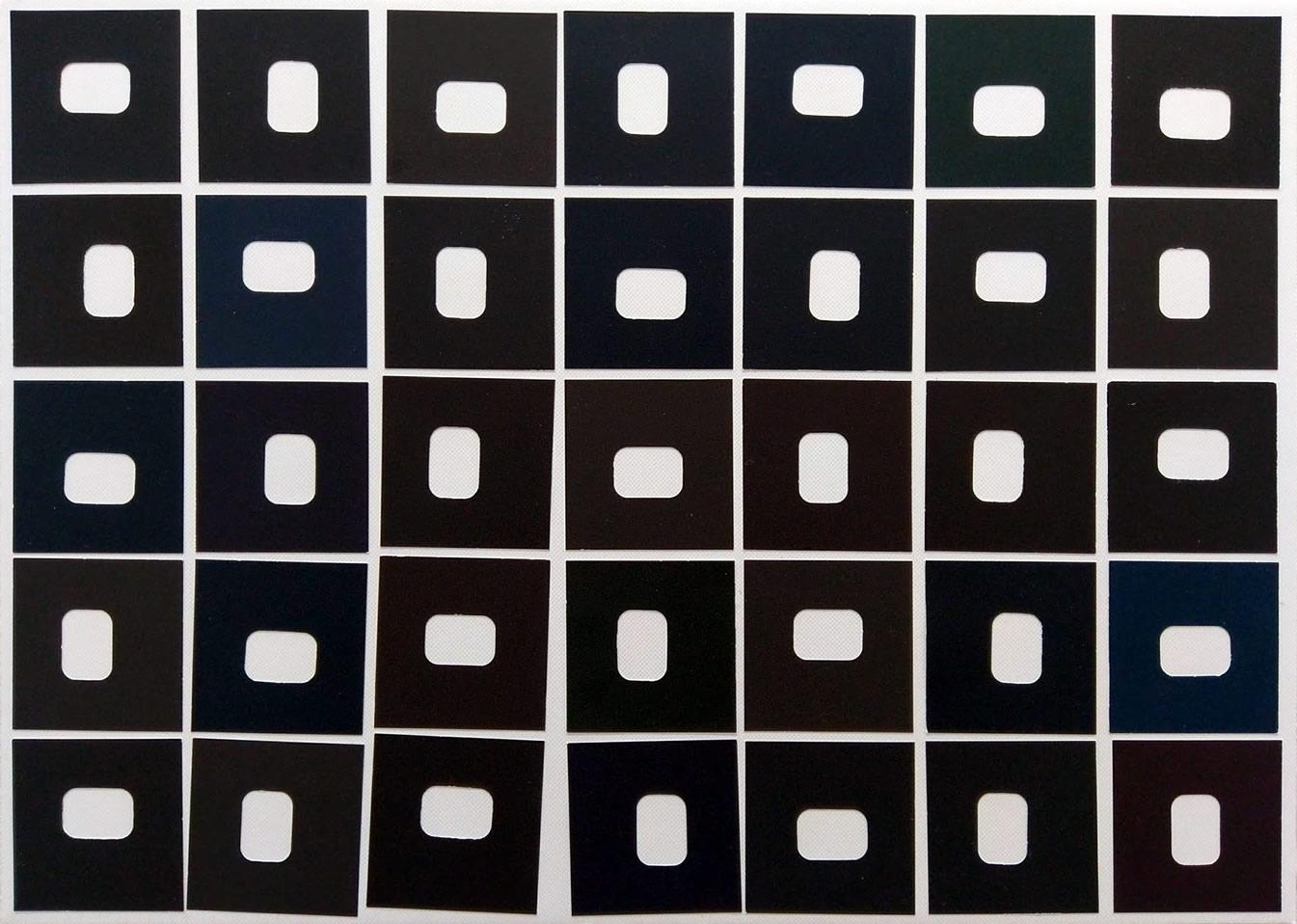 Minimalist collage by David sMith
