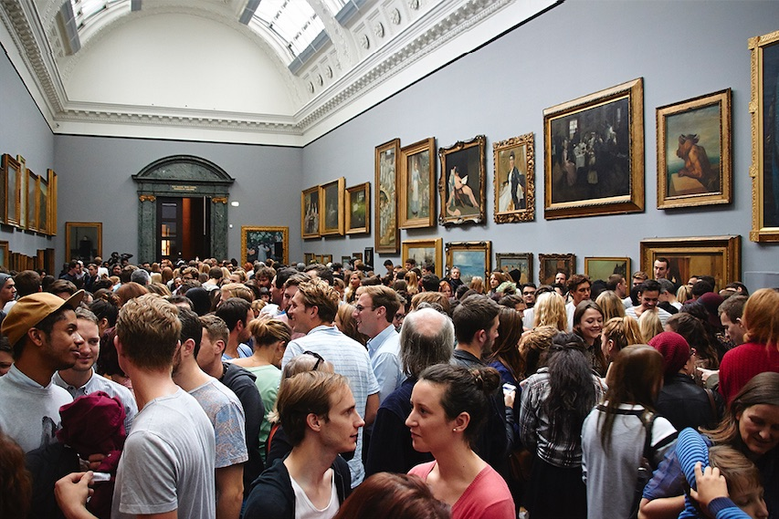 Event at Tate Britain. Photo: courtesy Tate