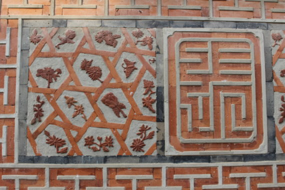 Tile details in Korea