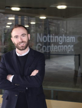 Sam Thorne, director, Nottingham Contemporary