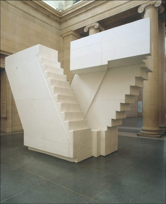 Rachel Whiteread, Untitled (Stairs), 2001. © Rachel Whiteread