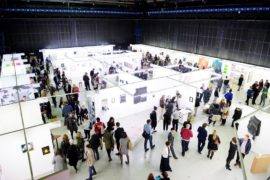 The Manchester Contemporary art fair at Old Granada Studios, Manchester. Photo courtesy of The Manchester Contemporary