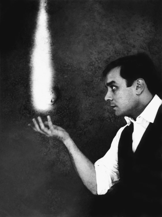 Yves Klein, The Dream of Fire c.1961 Harry Shunk and Shunk-Kender photographs
