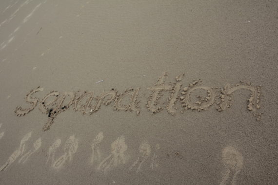 Written in the sand...