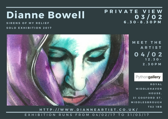 Solo Exhibition by Dianne Bowell