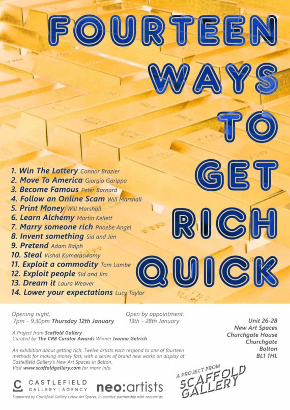 Fourteen Ways To Get Rich Quick