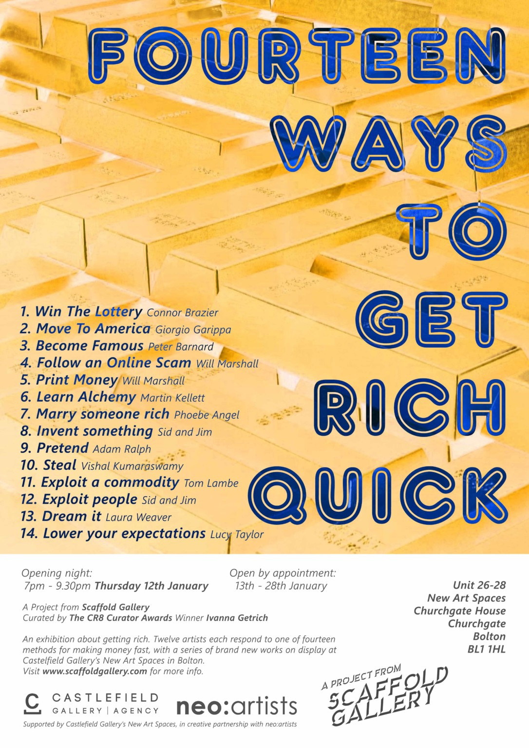 Forum on this topic: How to Get Rich Quick, how-to-get-rich-quick/