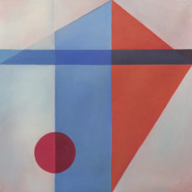 Geometric abstract 2, Rachel Hinds