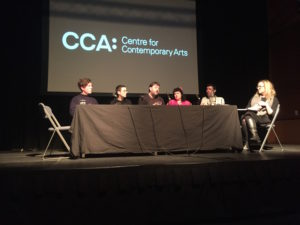 Towards a Scottish Collection of Artists' Moving Image, event at CCA Glasgow, 13 January 2017. Photo: Lux Scotland
