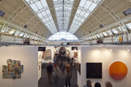 London Art Fair 2015. Photo: Mark Cocksedge