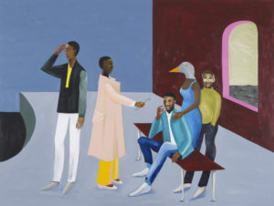 Lubaina Himid, Le Rodeur: Exchange, 2016. Courtesy the artist & Hollybush Gardens