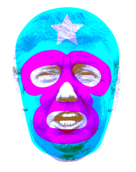 El Trump screenprint