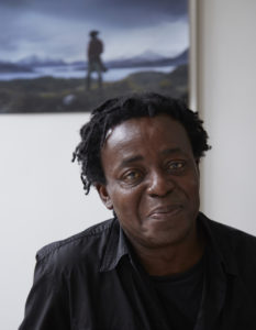 John Akomfrah at his London studio, 2016