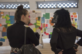 Tate Modern Switch House level 5, Complaints Department, Guerrilla Girls. Photo: Tate Photography
