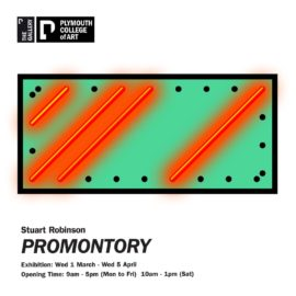 Promontory, exhibition flyer